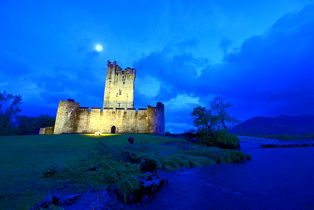 Ross Castle near Killarney, Kerry, Ireland
