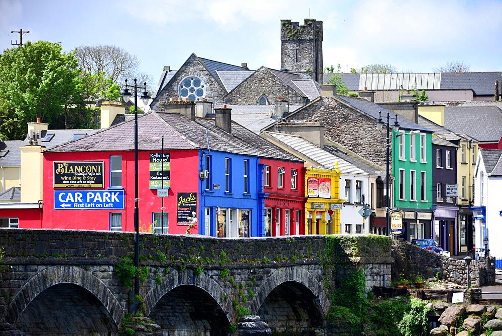 Killorglin at the Ring of Kerry, Kerry, West coast, Ireland