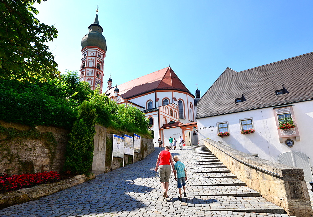 Andechs, Upper Bavaria, Bavaria, Germany