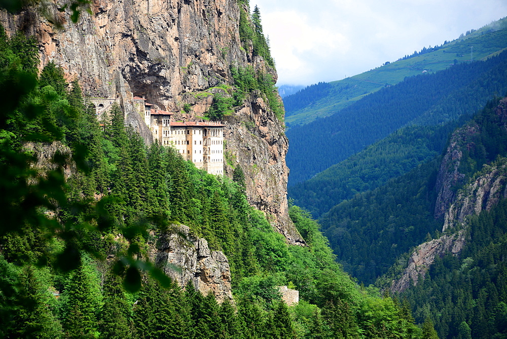 Sumela abbey near Trabzon, Black Sea, East Turkey, Turkey