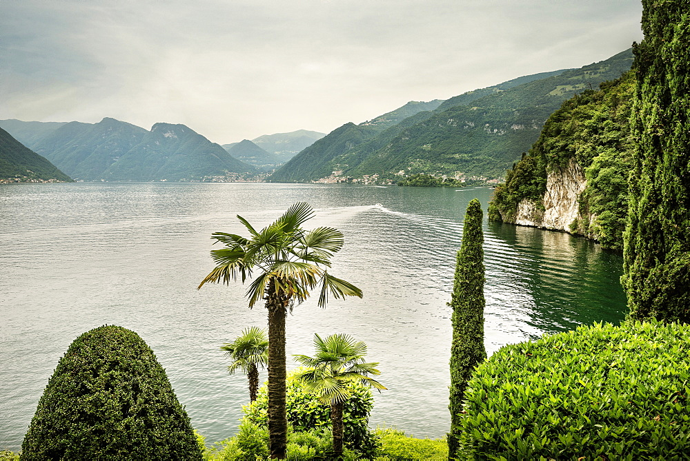 View of Star Wars from Villa del Balbianello, Lenno, Lombardy, Italy, Europe