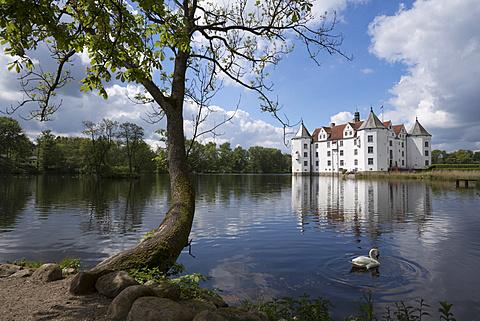 Gluecksburg castle, Gluecksburg, Schleswig-Flensburg, Schleswig-Holstein, Germany