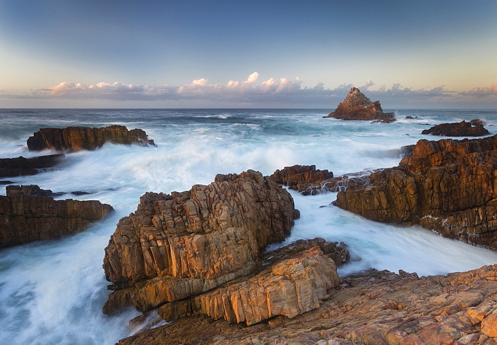 Coastal landscape, The Heads, Indian Ocean, Knysna, Western cape, South Africa