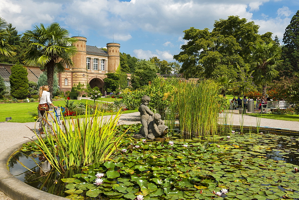 Botanical Garden, Karlsruhe, Baden-Wuerttemberg, Germany