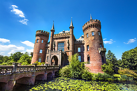 Moyland castle, Bedburg-Hau, North Rhine Westphalia, Germany