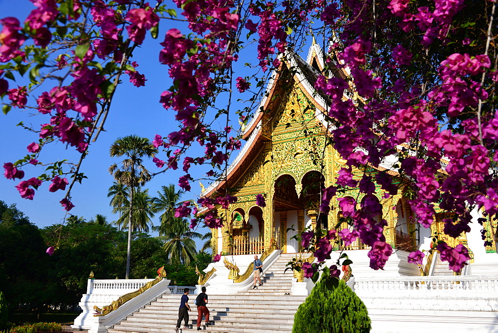 Wat Ho Phra Bang at Kings Palace, Luang Prabang, Laos, Asia