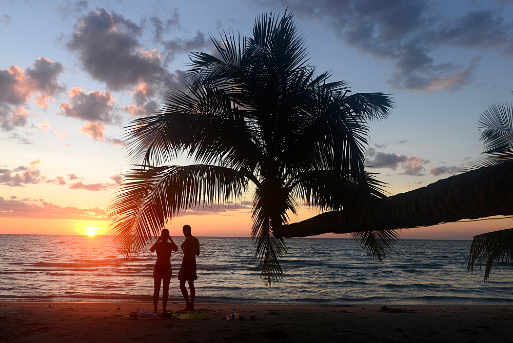 Sunset at Long Chao Beach, Island of Kut, Golf of Thailand, Thailand - 1113-102210