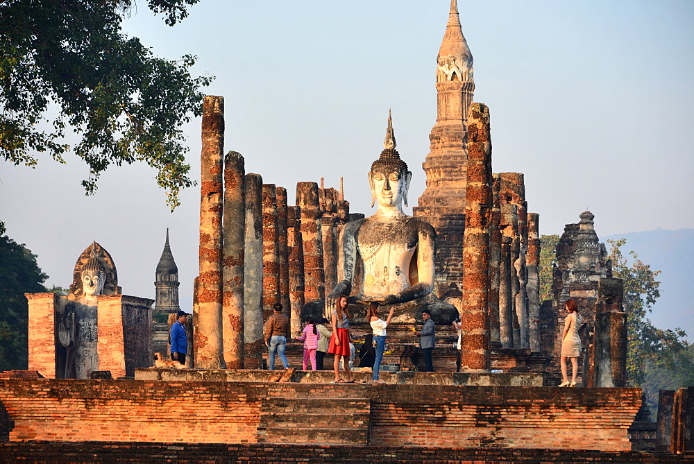 Wat Mahathat, Old-Sukhothai, Thailand