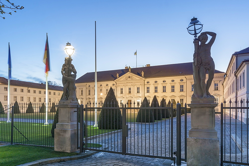 Bellevue Palace, Office of the Federal President, Tiergarten, Berlin, Germany