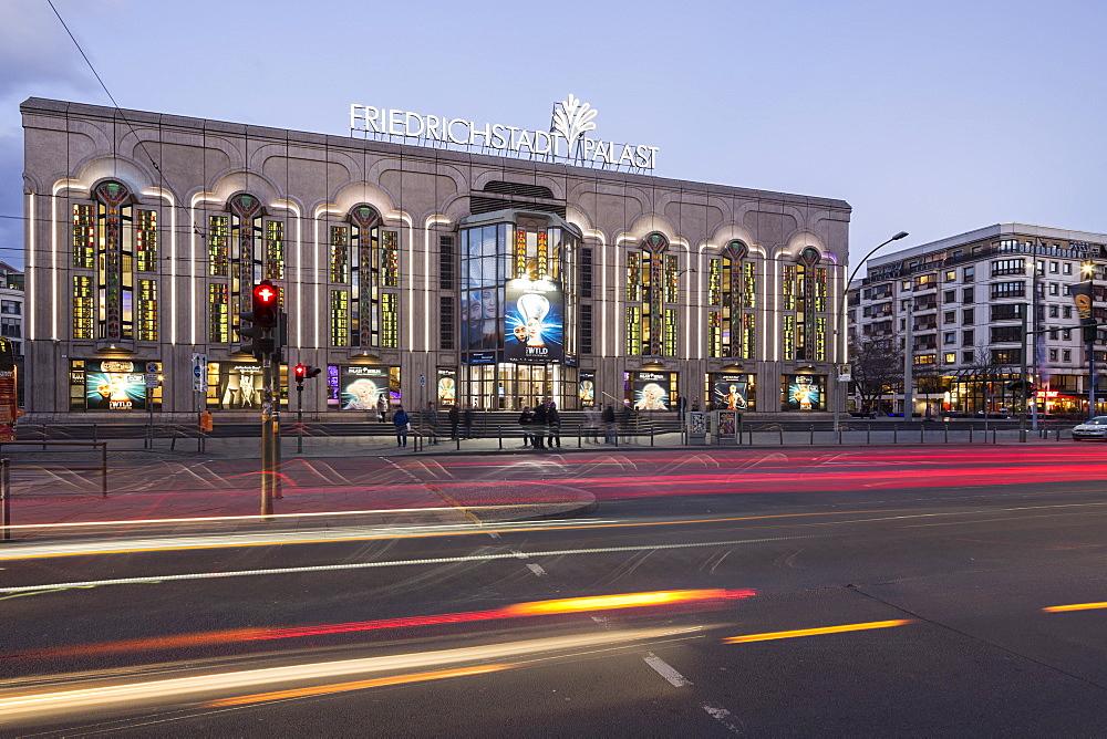 Friedrichstadtpalast, Revue Theater, Friedrichstrasse, Berlin, Germany