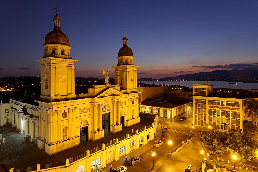 Catedral de Nuestra Senora de la Asuncion, Santiago de Cuba, Santiago de Cuba, Cuba, West Indies