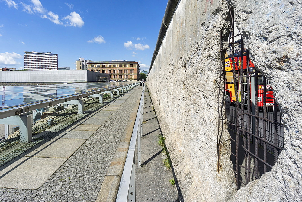 Topography of Terror and Berlin Wall, Documentation Center of Nazi Terror, Berlin Wall, Berlin, Germany - 1113-102253