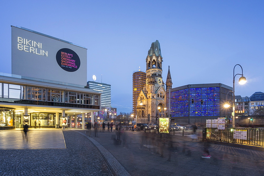 Bikini Shopping Center, Kaiser Wilhelm Memorial Church, Berlin, Germany