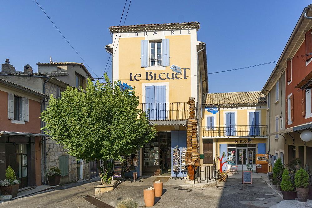 Le Bleuet, Famous Librairie, bookshop, Banon, Luberon, Provence-Alpes-Cote d'Azur, France