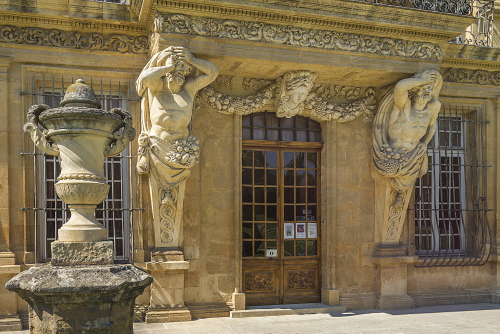 Pavillon de Vendome, Aix en Provence, Provence-Alpes-Cote d'Azur, France