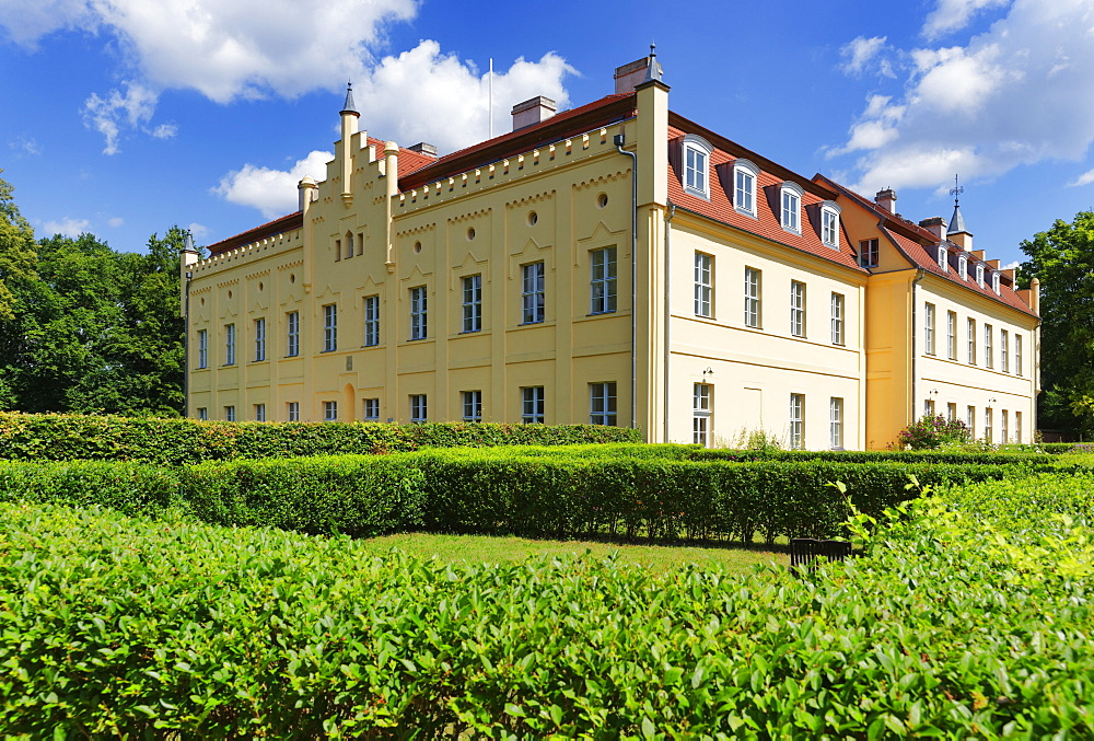 Nennhausen palace, Nennhausen at Rathenow, Brandenburg, Germany