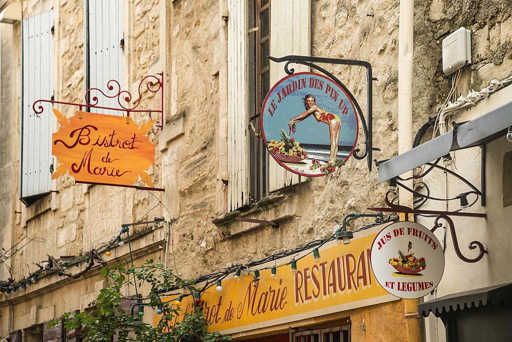 Bistrot de Marie, Le Jardin des Pin Up, St. Remy de Provence, Bouches-du-Rhone, Provence-Alpes-Cote d'Azur, France