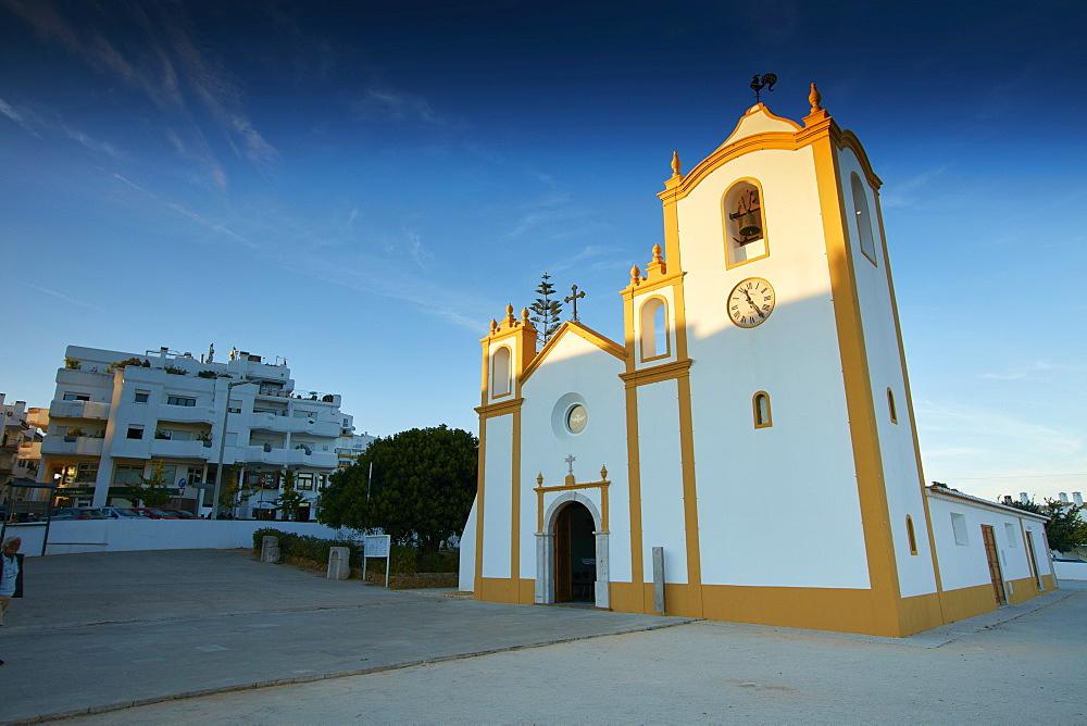 Church in Luz, Algarve, Portugal