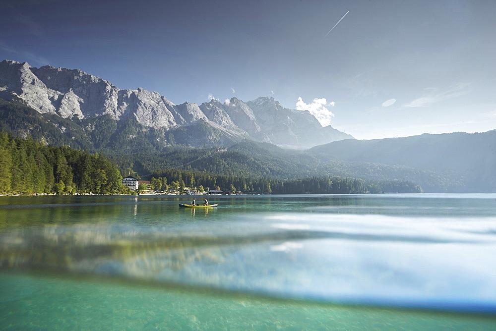 EIBSEE and Zugspitze, Grainau, Bavaria, Germany - 1113-102779