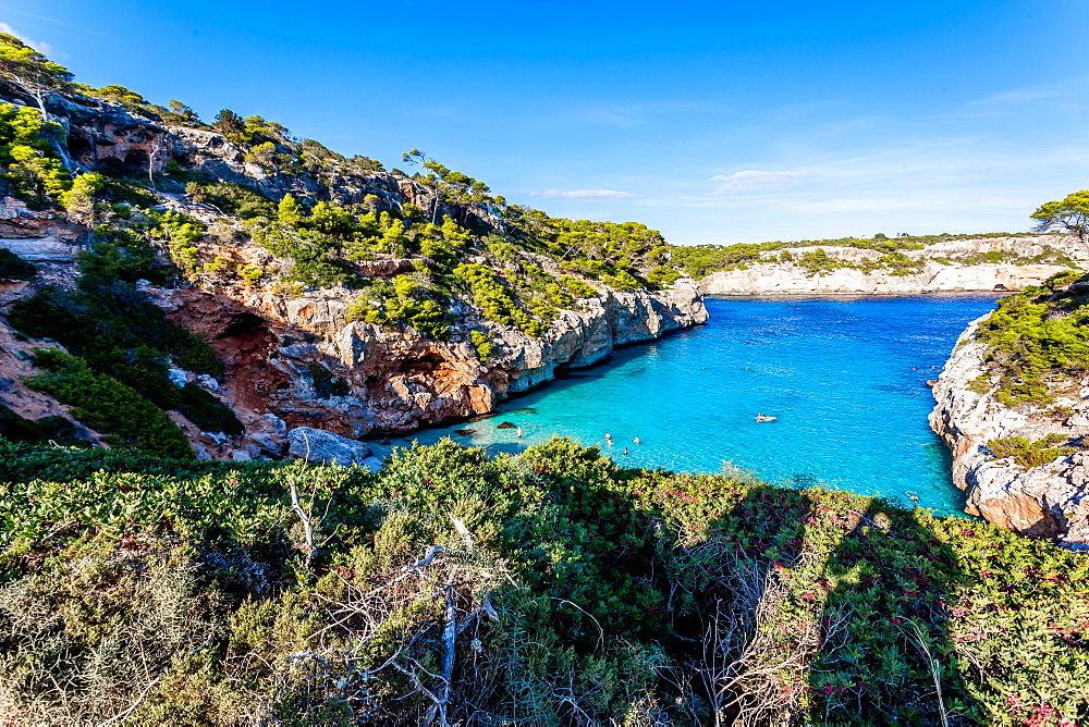 Calo des Moro, Mallorca, Balearic Islands, Spain