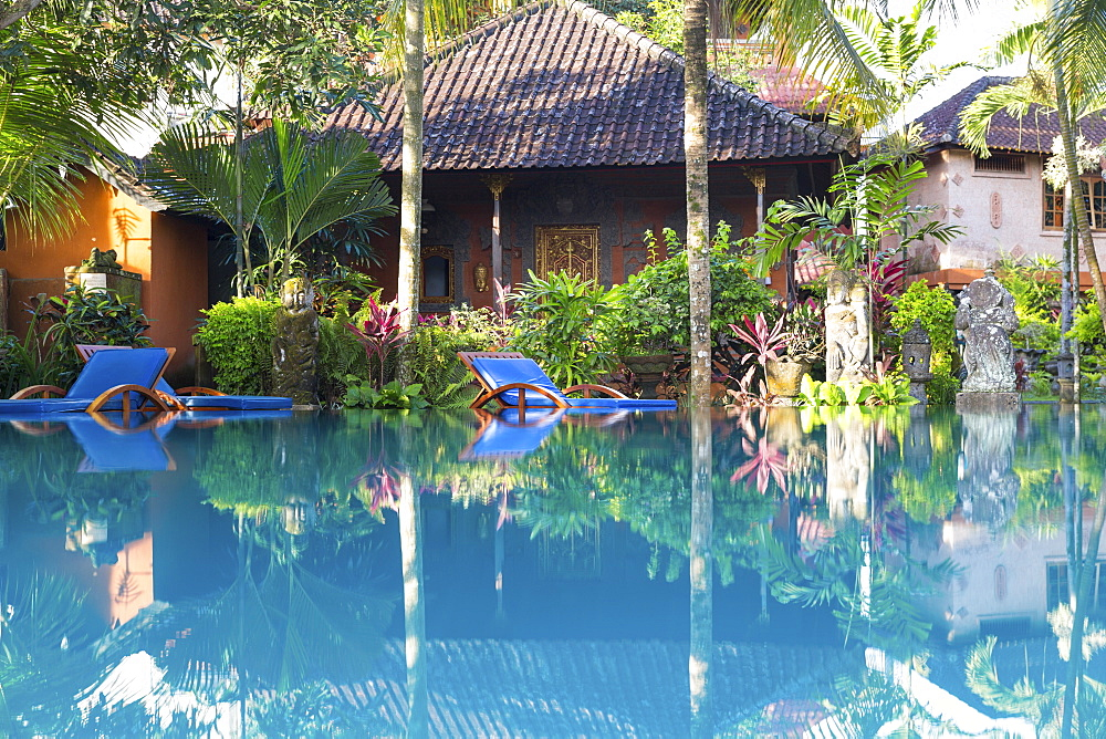 Hotel complex with swimming pool, Ubud, Gianyar, Bali, Indonesia - 1113-102917