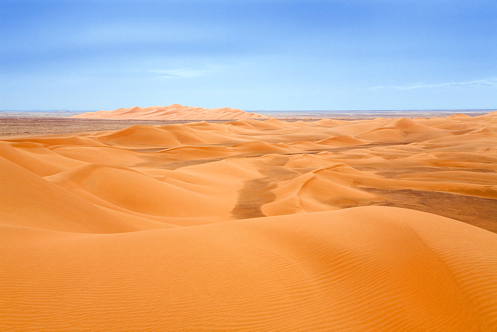 Sanddunes in the libyan desert, Sahara, Libya, North Africa