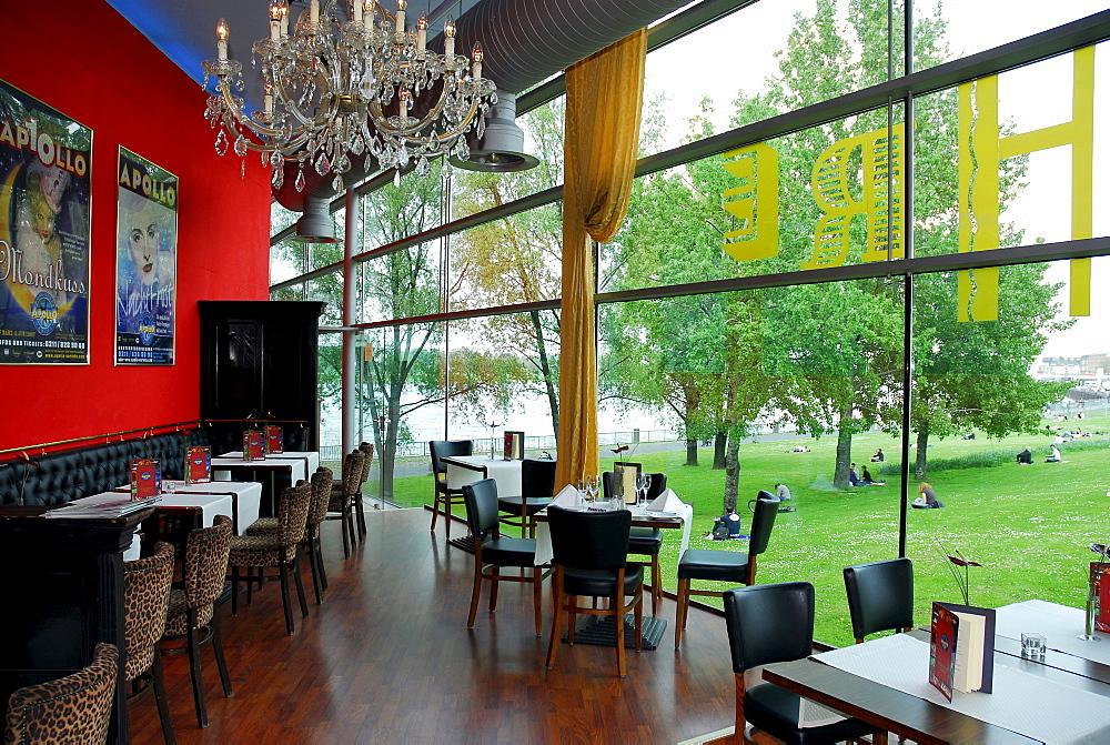 Cafe, Roncalli's Apollo Variete, Dusseldorf, North Rhine-Westphalia, Germany