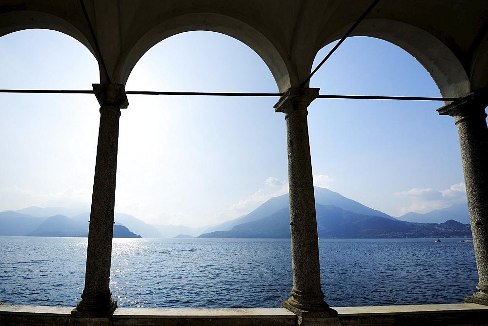 Pavilion at Lake Como, Varenna, Lombardy, Italy
