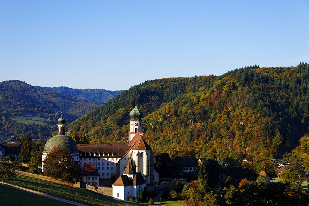 St. Trudpert's Abbey, Munstertal, Baden-Wurttemberg, Germany