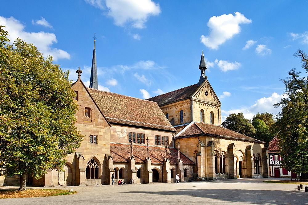 Minster, Cistercian monastery, Maulbronn, Baden-Wuerttemberg, Germany