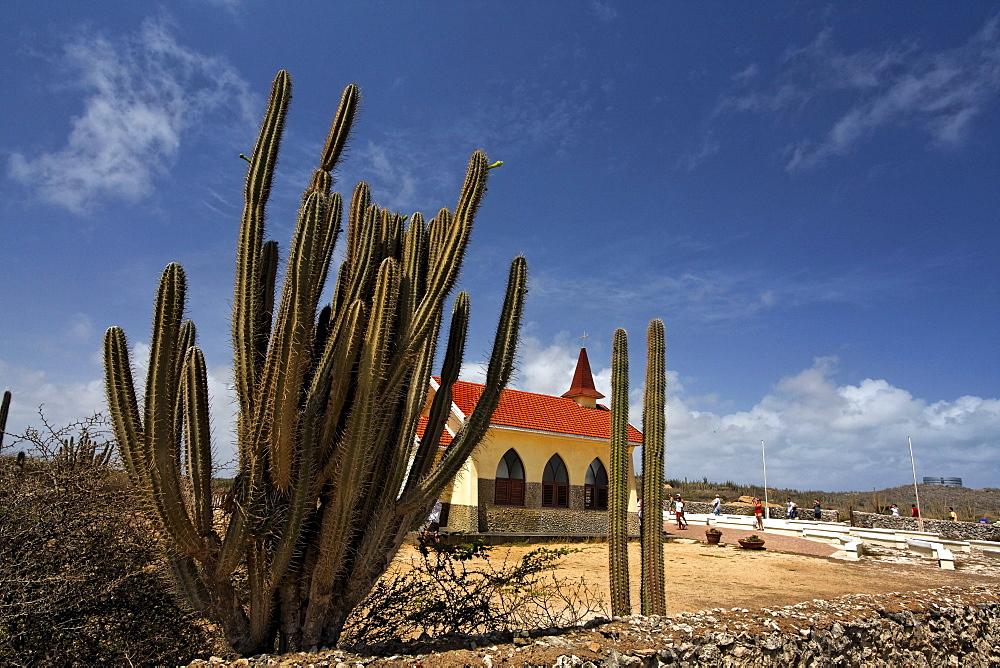 West Indies, Bonaire, West Indies, Aruba, Jeep Adventure Safari Tour to Alto Vista Chapel