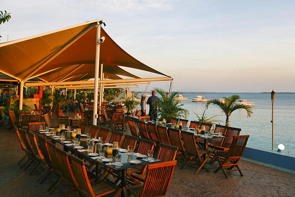 West Indies, Bonaire, Captain Dons Habitat, Restaurant