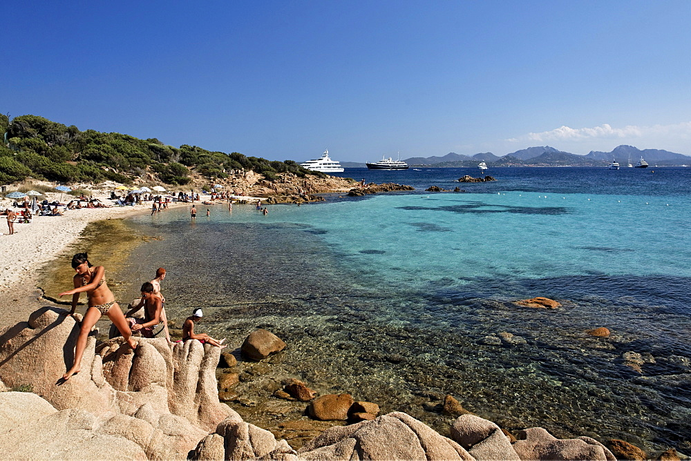 Italy Sardinia Costa Smeralda Cala Capriccioli