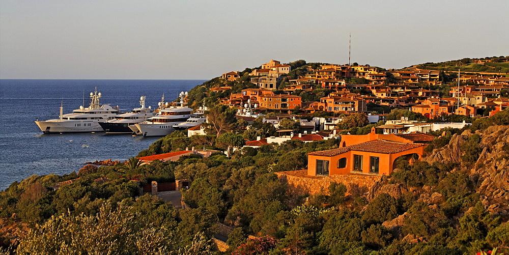 Italy Sardinia Costa Smeralda Porto Cervo
