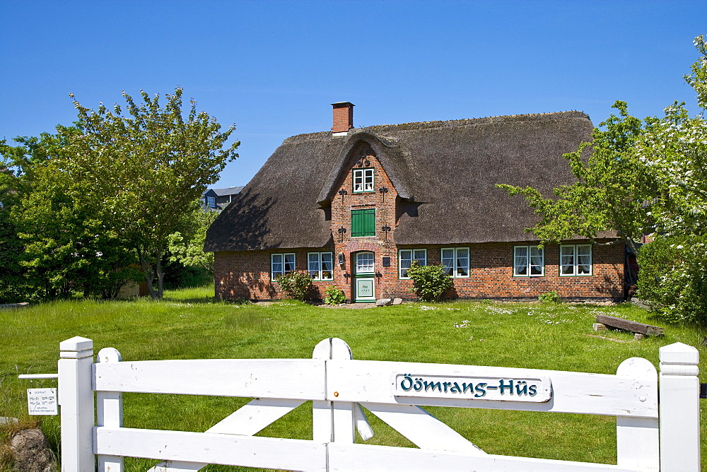 Museum, Oeoemrang Hus, Nebel, Amrum Island, North Frisian Islands, Schleswig-Holstein, Germany