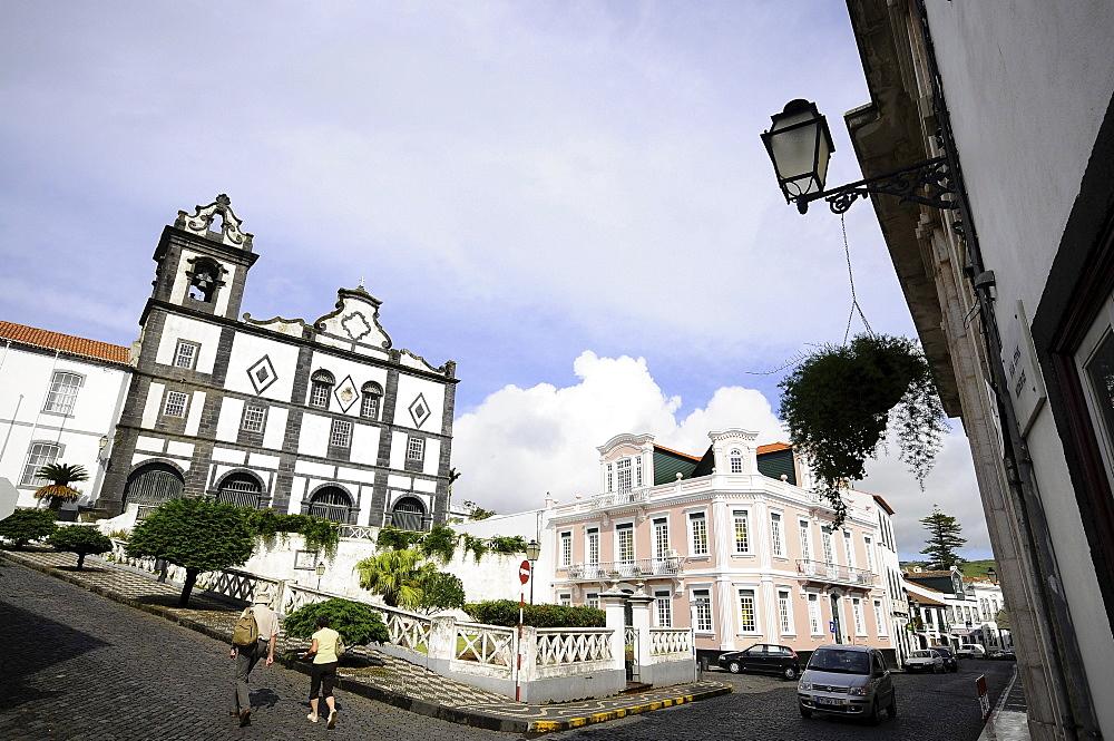 San Salvador church, Horta, Faial Island, Azores, Portugal