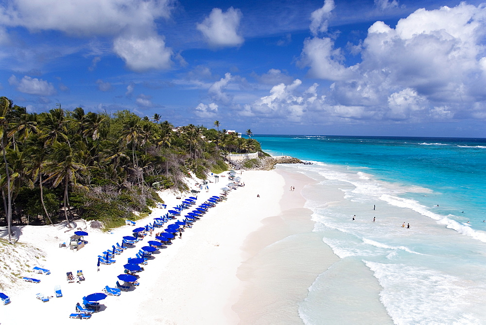 Crane Beach of the Crane Hotel, Barbados, Caribbean