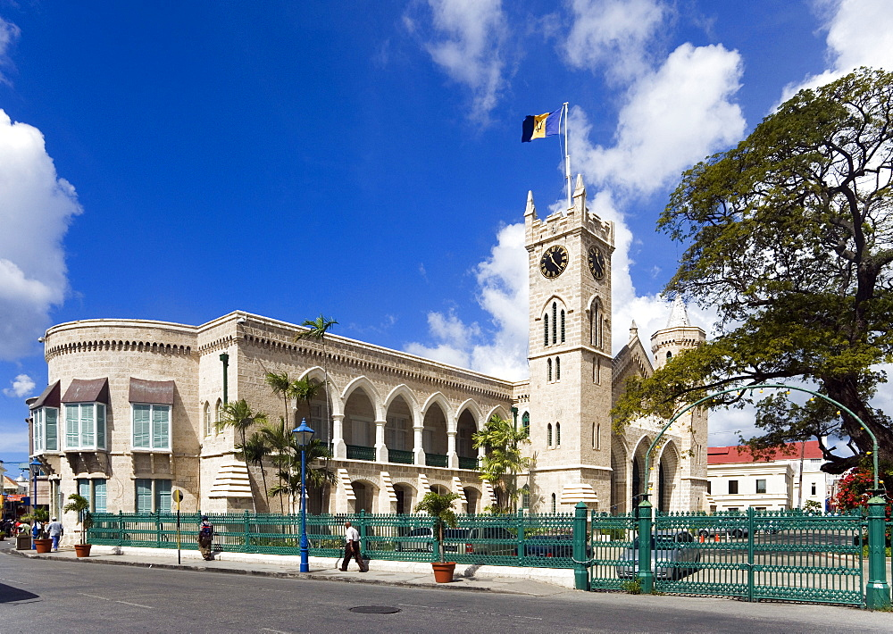 Parliament building, Bridgetown, Barbados, Caribbean