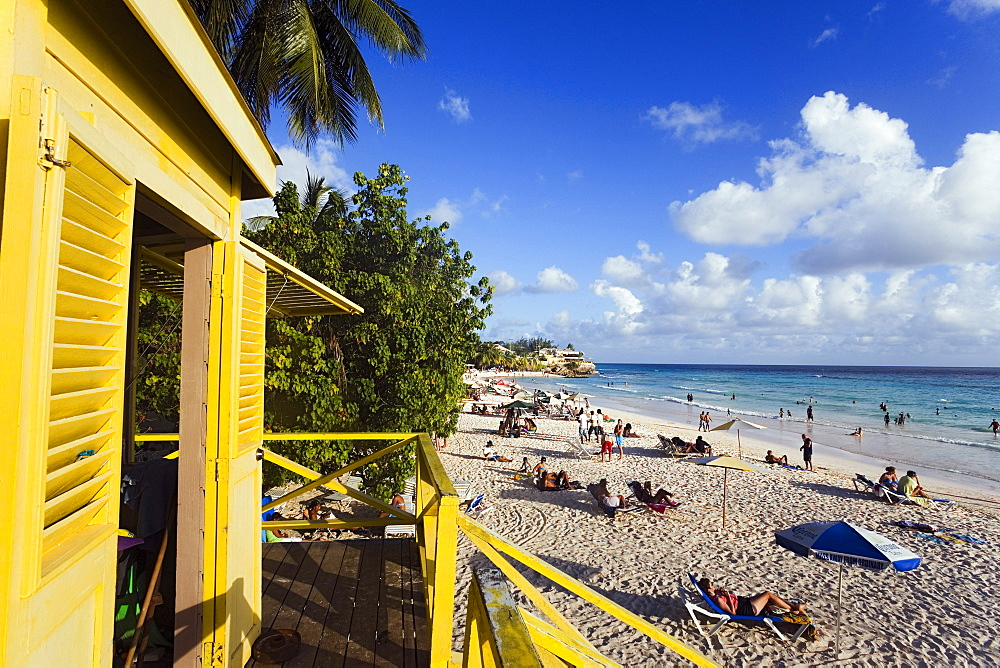 Lifequard Towert, Accra Beach, Rockley, Barbados, Caribbean