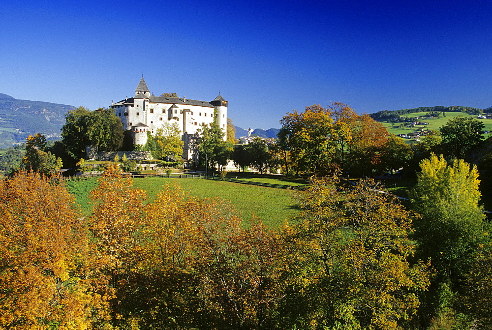 Presule castle, Proesels castle, Dolomite Alps, South Tyrol, Italy