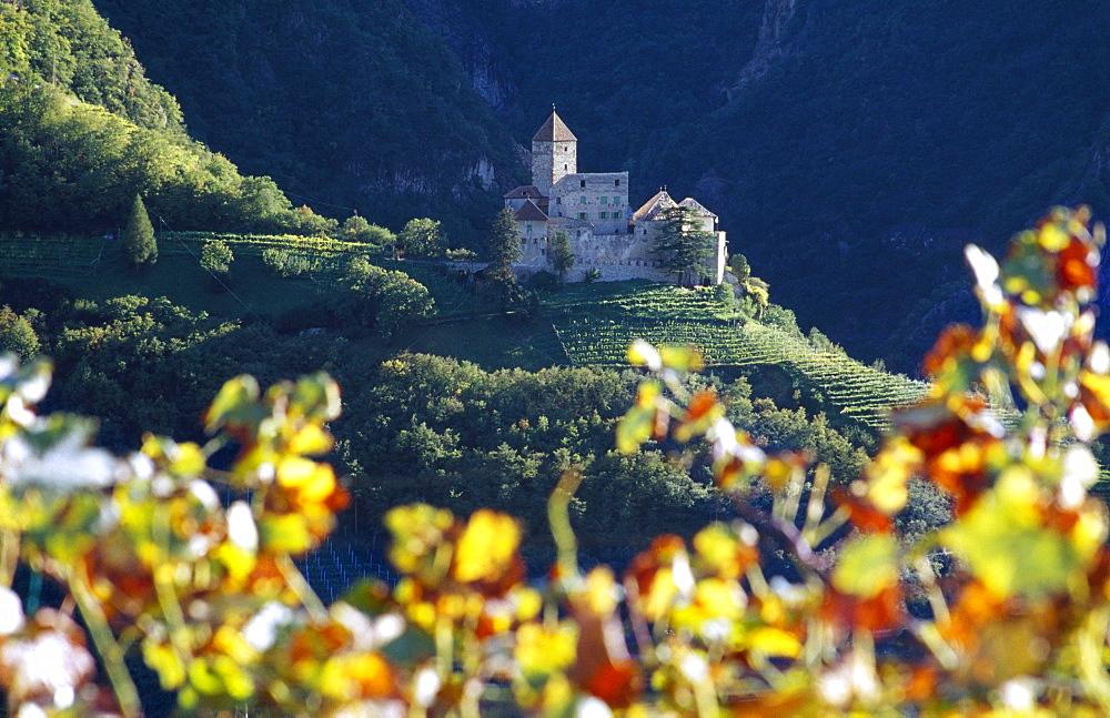 Cornedo castle, Val d' Ega, Dolomite Alps, South Tyrol, Italy