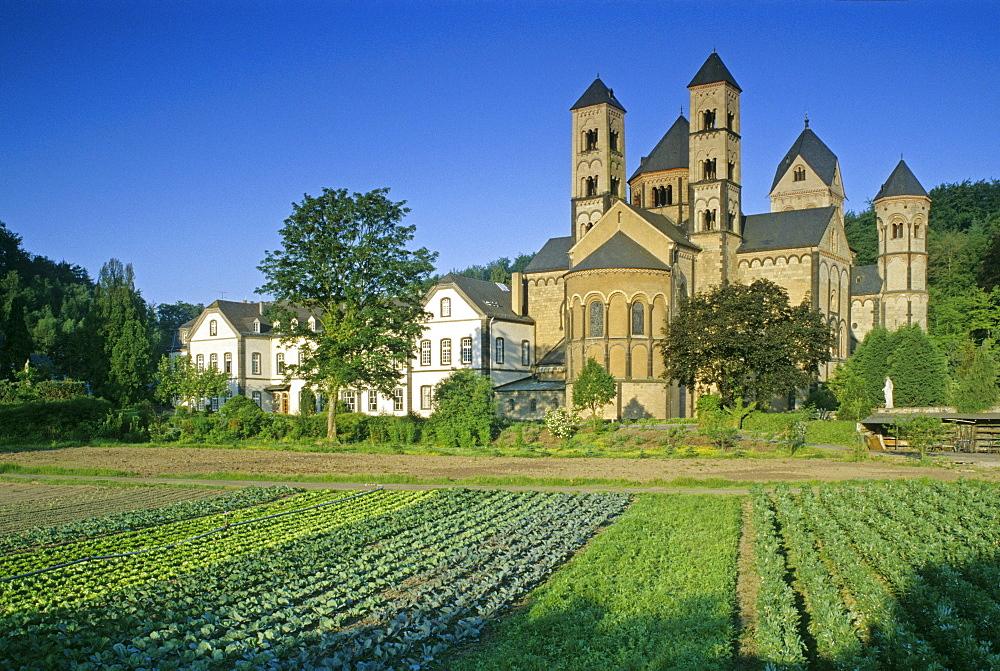 Maria Laach abbey, Eifel, Rhineland Palatinate, Germany