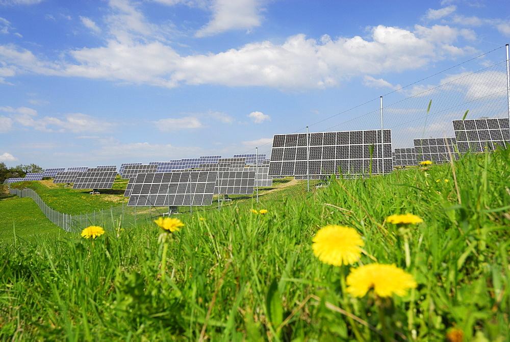 Photovoltaic system, Bavaria, Germany