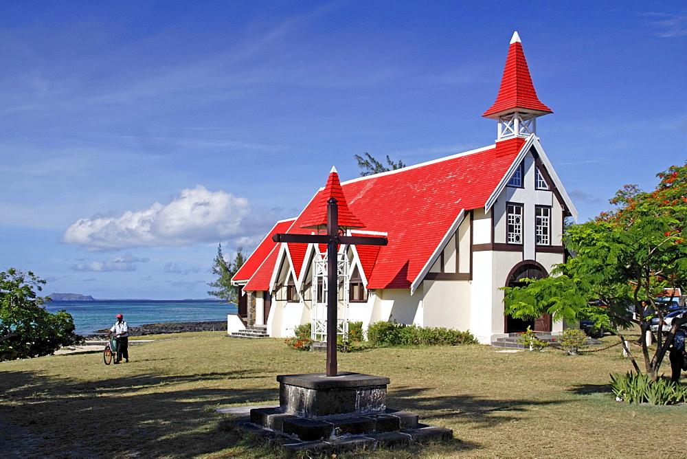 Eglise de Cap Malheureux, Mauritius, Africa