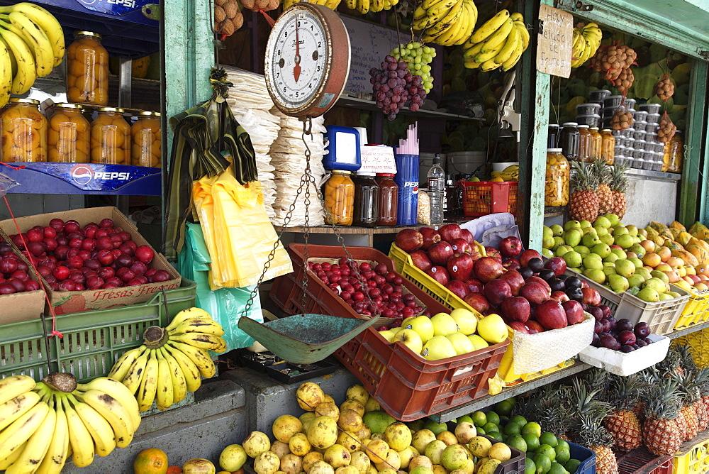 Fruit stall, Porlamar, Isla Margarita, Nueva Esparta, Venezuela
