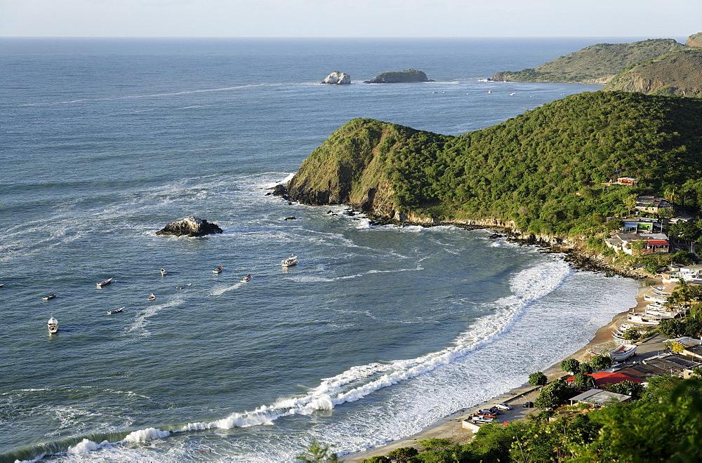 View over Playa Guayacan, Isla Margarita, Nueva Esparta, Venezuela