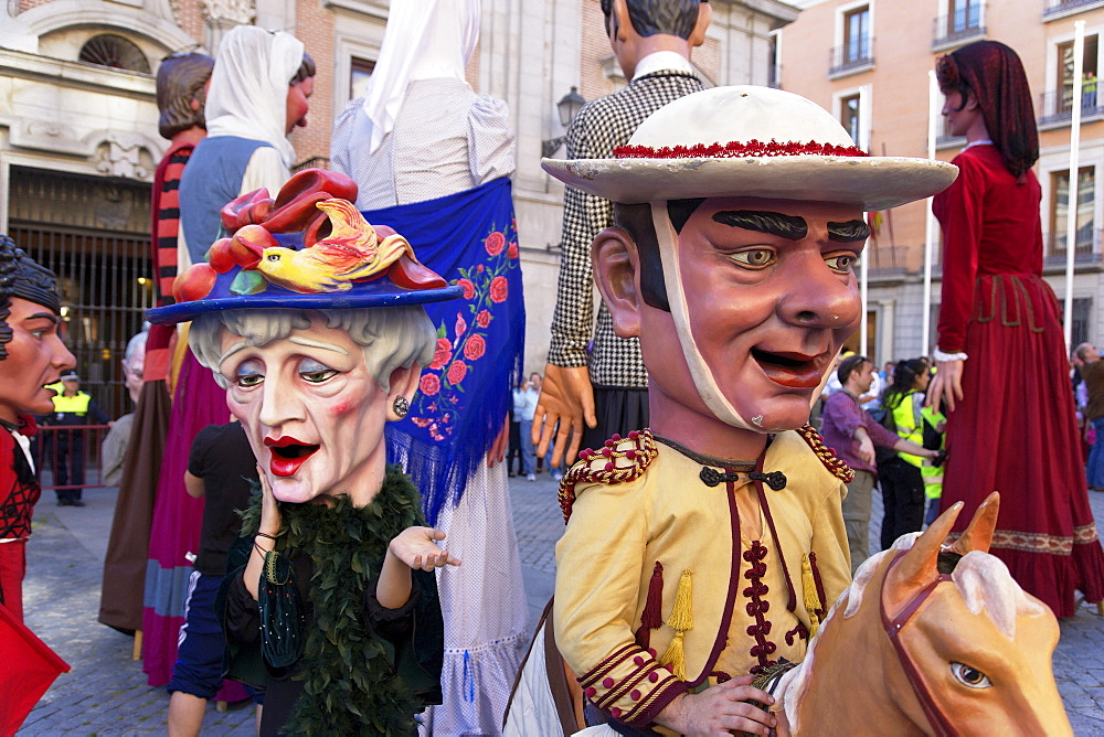Procession, Fiestas de San Isidro Labrador, Madrid, Spain