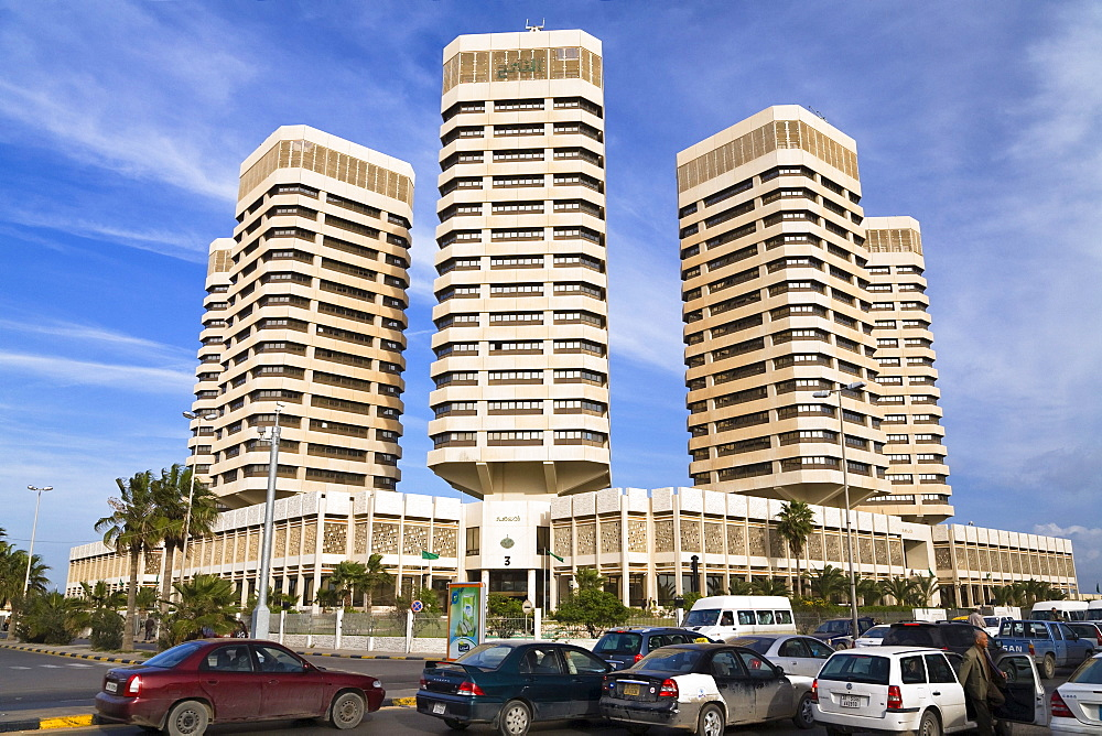 Office Buildings, Dhat Al Imad, Tripoli, Libya, Africa