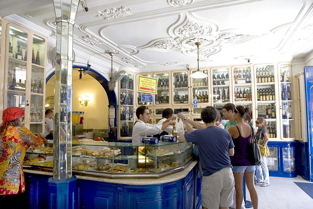 Pasteis de BelÈm, Famous bakery in the BelÈm parish of Lisbon, Portugal