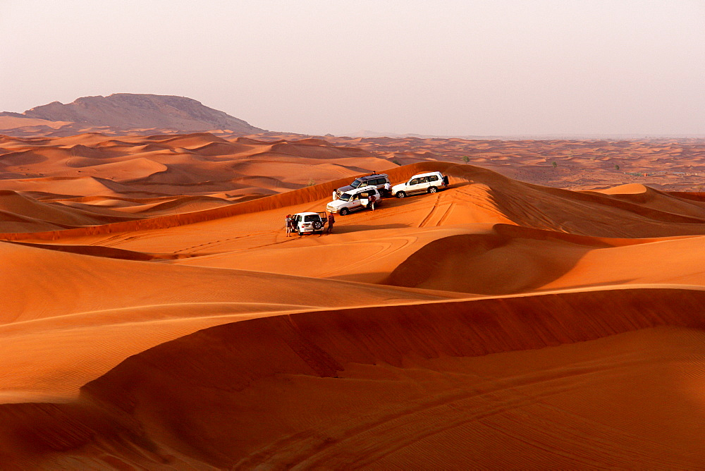 Excursion in the desert, Dubai, United Arab Emirates, UAE